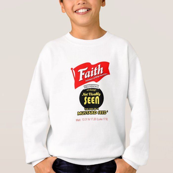 Faith: French's Mustard parody Sweatshirt