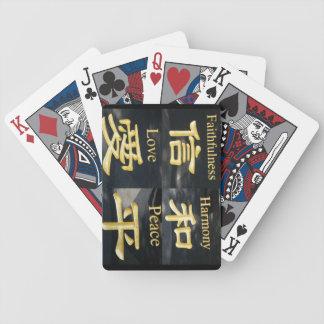 Faith Harmony Love and Peace Deck Of Cards