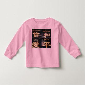 Faith Harmony Love and Peace Toddler T-shirt