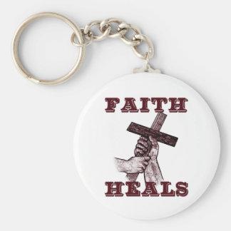 Faith Heals Keychain