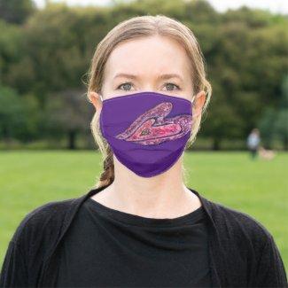 Faith Hearts Inspirational Art Custom Face Masks