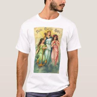 faith hope and charity Tshirt