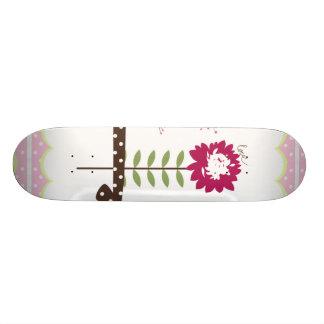 Faith Hope and Love Flowers Skate Board Deck