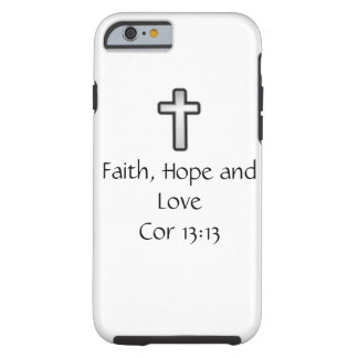 Faith, Hope and Love, iphone cover