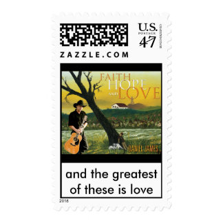 Faith, Hope and Love Postage