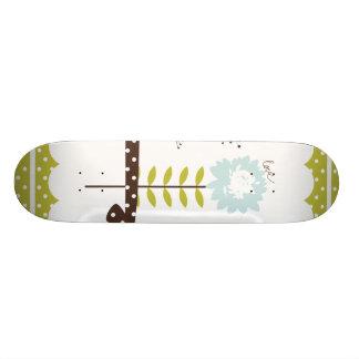 Faith Hope and Love Ribbon Custom Skate Board