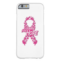 Faith Hope Breast Cancer Awareness Barely There iPhone 6 Case
