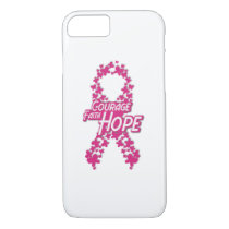 Faith Hope Breast Cancer Awareness iPhone 8/7 Case