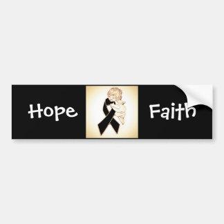 Faith & hope bumper stickers