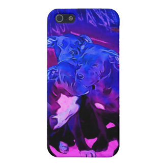 Faith Hope & Charity, Abused Pit Bull Dogs Cover For iPhone SE/5/5s