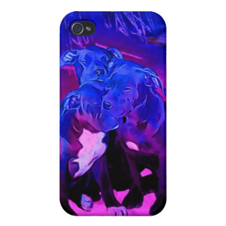 Faith Hope & Charity, Abused Pit Bull Dogs Cover For iPhone 4