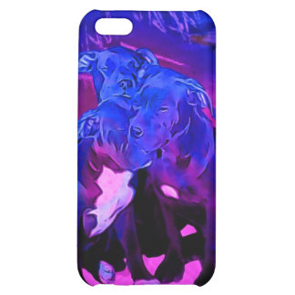 Faith Hope & Charity, Abused Pit Bull Dogs Cover For iPhone 5C