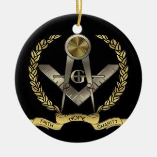 Faith, Hope, Charity Ceramic Ornament