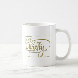 Faith, Hope, Charity Coffee Mug