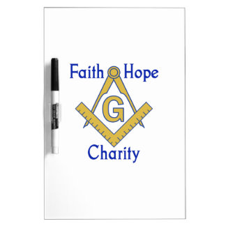 FAITH HOPE CHARITY Dry-Erase WHITEBOARDS