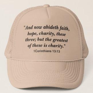 Faith, Hope, Charity Hat