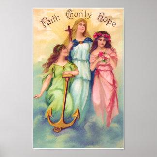 Faith Hope Charity Print