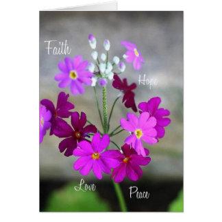 Faith,Hope...greeting card size