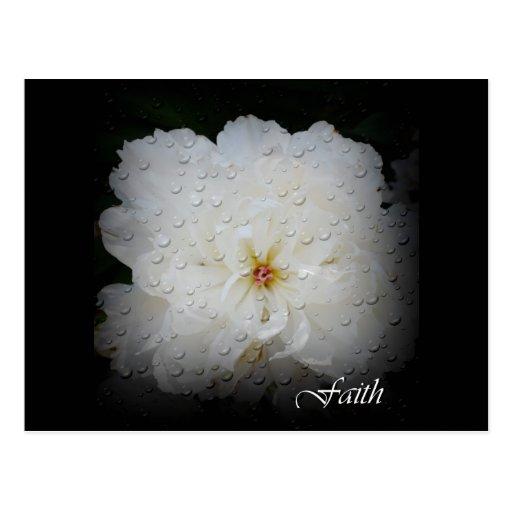 Faith, Hope, Life Postcard