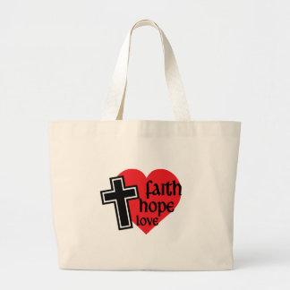 Faith, Hope, Love Bag