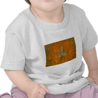 Faith Hope Love Bible Verse Tee Shirts