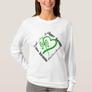 Faith Hope Love Butterfly - Kidney Disease T-Shirt