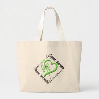 Faith Hope Love Butterfly - Lyme Disease Bag