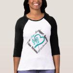 Faith Hope Love Butterfly - PCOS Awareness T-Shirt