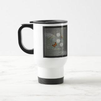 Faith Hope Love ~ Butterfly Tulips Mug