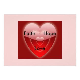 Faith, Hope & Love Card
