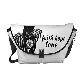 Faith Hope Love Commuter Bag
