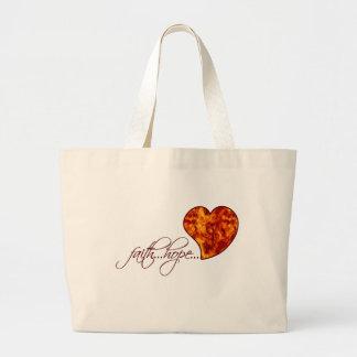 Faith Hope Love Heart 1 Corinthians 13:13 Bag