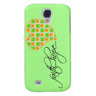 Faith Hope Love Heart 1 Corinthians 13:13 Samsung Galaxy S4 Cover