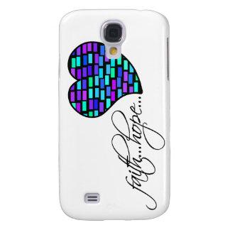 Faith Hope Love Heart 1 Corinthians 13:13 Samsung Galaxy S4 Cases