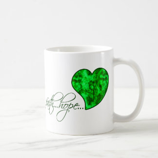 Faith Hope Love Heart 1 Corinthians 13:13 Coffee Mug
