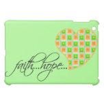 Faith Hope Love Heart 1 Corinthians 13:13 iPad Mini Covers
