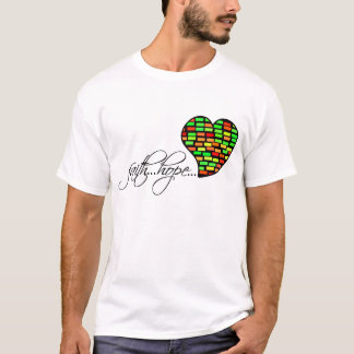 Faith Hope Love Heart 1 Corinthians 13:13 T-Shirt