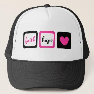 Faith Hope Love Heart 1 Corinthians 13:13 Trucker Hat