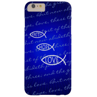 Faith Hope Love Ichthus - Christian Fish Barely There iPhone 6 Plus Case