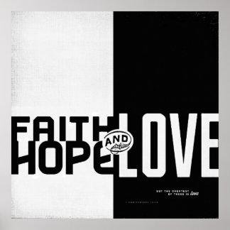 Faith, Hope, Love II Print