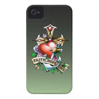 Faith Hope Love iPhone 4 Case