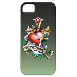 Faith Hope Love iPhone 5 Case