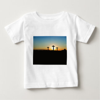 Faith, Hope,  & Love Jesus Christ Cross Baby T-Shirt