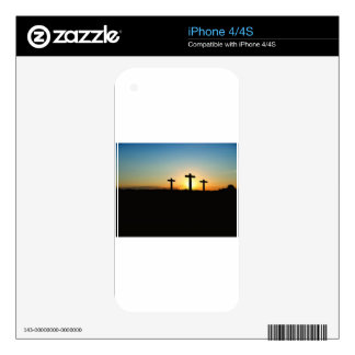 Faith Hope Love Jesus Christ Cross Decals For The iPhone 4