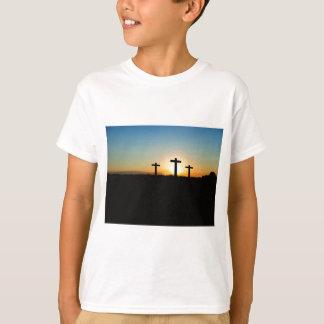 Faith, Hope,  & Love Jesus Christ Cross T-Shirt