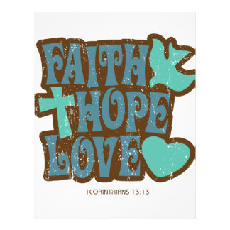 faith hope love letterhead