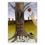 Faith Hope Love Life Card - Little Things Card