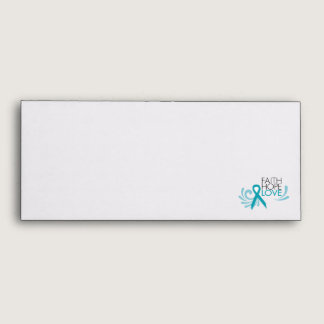 Faith, Hope, Love - Ovarian Cancer Envelope