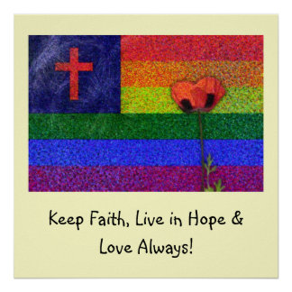 FAITH HOPE & LOVE POSTER