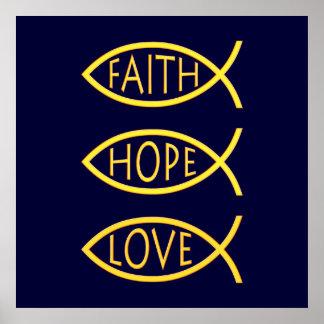 FAITH HOPE LOVE - Poster